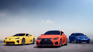 lexus isf supercar photo the lexus lfa rc f and is f all together lexus enthusiast