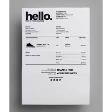 Make Your Own Invoice Template Module Accounting Invoicing Invoice Delivery Template