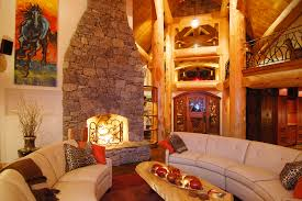 luxury log home interiors luxury log cabin homes wsj mansion wsj