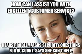 Customer Service Meme - how can i assist you with excellent customer service hears problem
