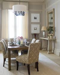 Curtains Dining Room Ideas Light Grey Blue Walls Cream Curtains Light Color Furniture
