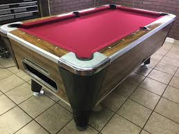 Valley Bar Table Table 042217 Valley Used Coin Operated Pool Table Used Coin