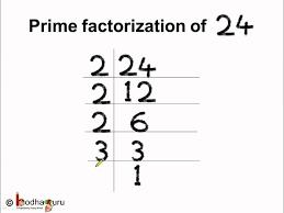 factors and prime factorization worksheets dividing by 1 digit