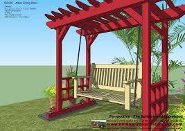 Home Garden Plans Gt100 Garden Teak Tables Woodworking Plans by Home Garden Plans Sw100 Arbor Swing Plans Swing Woodworking