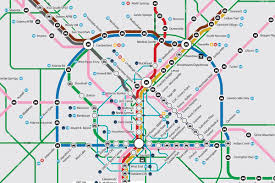 Marta Train Map Presenting Atl U0027s Most Comprehensive Transit Map Of All Time