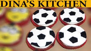 football cupcakes how to make football fondant cupcakes