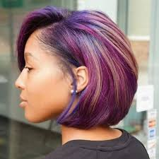 black women with purple hair 50 swaggy bob hairstyles for black women my new hairstyles