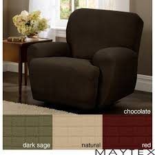 Lazy Boy Sofa Slipcovers by Furniture 4 Piece Brown Recliner Slipcover Cool Recliner