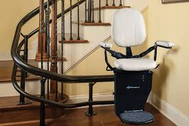 Lift Chair For Stairs Curved Rail Stair Lifts Stairlift For Curved Stairs Centerspan