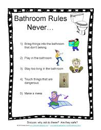 Bathroom Pass Punch Card Bathroom Rules Photos Routines Signs Safety Bathroom Passes