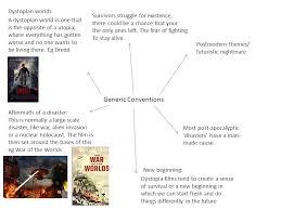 postmodern themes in film dystopia generic conventions dystopian worlds postmodern themes