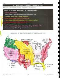 United States Map Activity by Westward Expansion Cc Cycle 3 History Pinterest Social