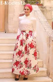 hijab skirts ball gown skirts floral print skirts online e