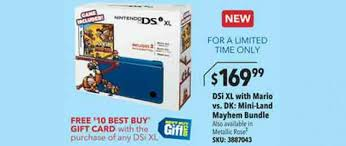 new nintendo 3ds xl black friday best buy black friday deal 169 99 nintendo dsi xl bundle with 1