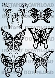 butterfly svg dxf png eps cdr butterfly clipart cricut