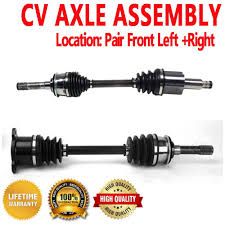 pair front cv axle for suzuki grand vitara xl 7 automatic