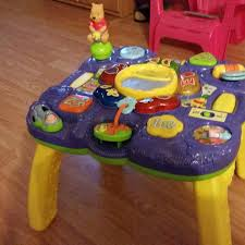 Best Activity Table For Babies by Best Vtech Winnie The Pooh Activity Table Excellent Used