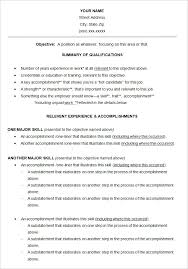 Functional Resume Template Pdf Functional Resume Template U2013 15 Free Samples Examples Format
