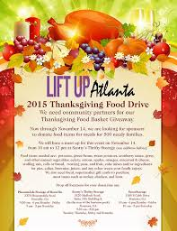 flyers for thanksgiving baskets for the needy flyer www