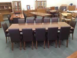 Aarons Dining Room Tables by Dining Aarons Furniture Floor Stock Sale Tasmanian Oak