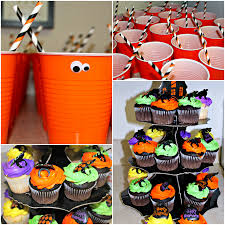 Minnie Mouse Halloween Birthday Party by Halloween Birthday Party Supplies