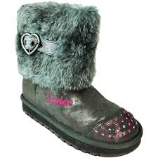 s boots with fur skechers s walking shoes boots s charcoal zip up warm