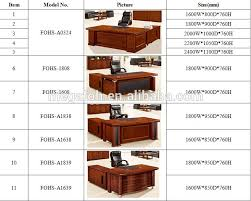 high quality office table high quality l shape ceo office wooden executive desk office table