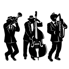 party silhouette amazon com jazz trio silhouettes 3 pkg party decorations
