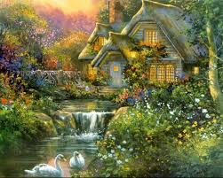 kinkade kinkade paintings kinkade painting