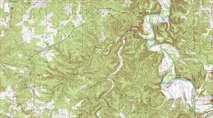 Missouri On Map Big Piney Trail Paddy Creek Wilderness Missouri