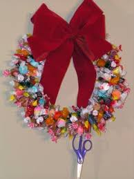 candy wreath free how to make a candy christmas wreath e book and
