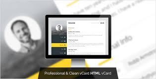 Resume Html Template S3 Envato Com Files 105125460 Screenshots 00 Promo