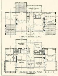 156 best vintage home plans images on pinterest vintage houses