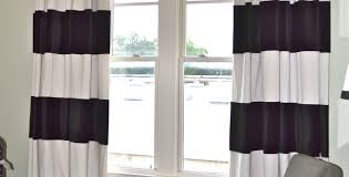 Rugby Stripe Curtains by Curtains Awesome Ideas For Large Windows Curtain Modern Style
