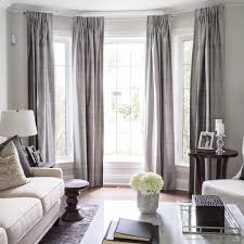 Curtains For Bay Window Best 3d Scenery Blackout Curtains Bay Window Treatments