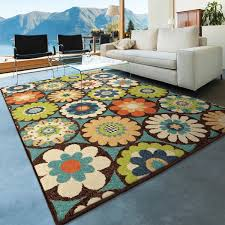 Bright Colored Area Rugs Orian Rugs Indoor Outdoor Bright Kilbury Multi Colored Area Rug