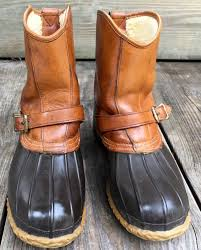 ll bean duck boots womens size 9 ll bean size 10 narrow buckle lounger duck boot maine