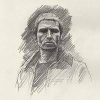 thom yorke sketch by subliminalex on deviantart