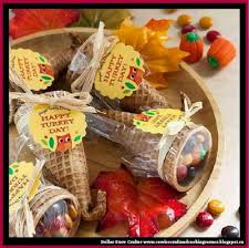 dollar store crafter these thanksgiving cornucopia favors