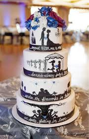 wedding cake history silhouette cake of the history of and groom a sweet design