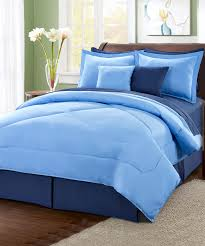 two tone blue reversible comforter 6 piece set 10 piece if you