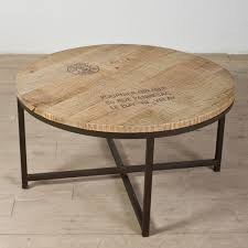 coffee table best 10 big round wood large ideas indian is a good