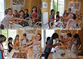 activité cuisine atelier cuisine pour fête d anniversaire dans la cuisine d audinette