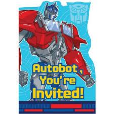 transformers party supplies u0026 ideas