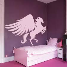 chambre cheval fille stickers cheval pégase achetez en ligne
