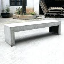 patio table and bench concrete patio bench built in patio seats and table custom built in