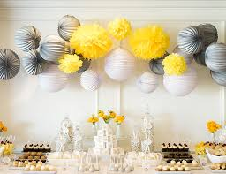 yellow and grey baby shower decorations yellow elephant baby shower inspired by this