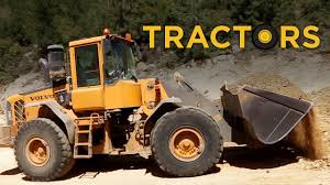 real trucks tractors and bulldozers toys for boys video