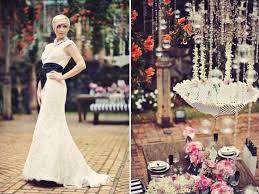 vintage pink and black wedding inspiration