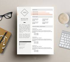 Microsoft Word Resume Templates Free Resume Template Cv Template Editable In Ms Word And Pages